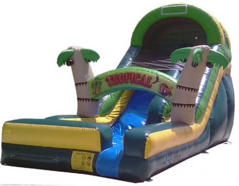 16' High Tropical Extreme II Water Slide (SWD16161)