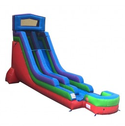 18' High Celebration Dry Slide