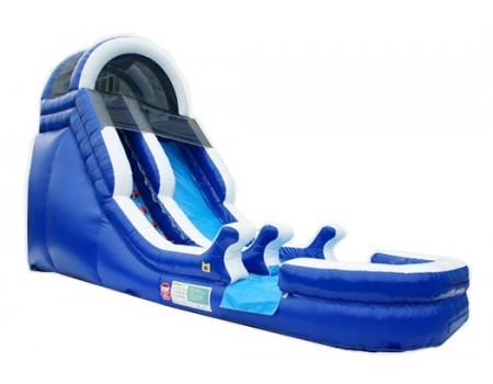 18' High Cool Blue Ocean Water Slide (SWD181601)