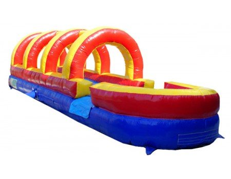 27' Long Rainbow Slip and Slide w/ Pool (SWSS070818)