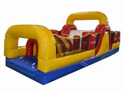 31' Dynamite II Obstacle Course with Slide (OD31151)