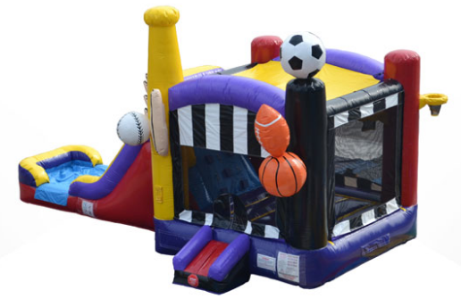 Deluxe Sports Bounce, Climb and Slide (CWD19179)