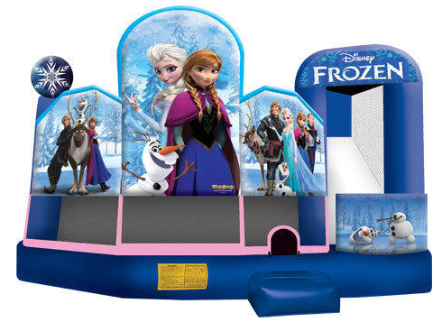 Disney Frozen Movie Bounce, Slide, Shoot and Play (CWD191401)