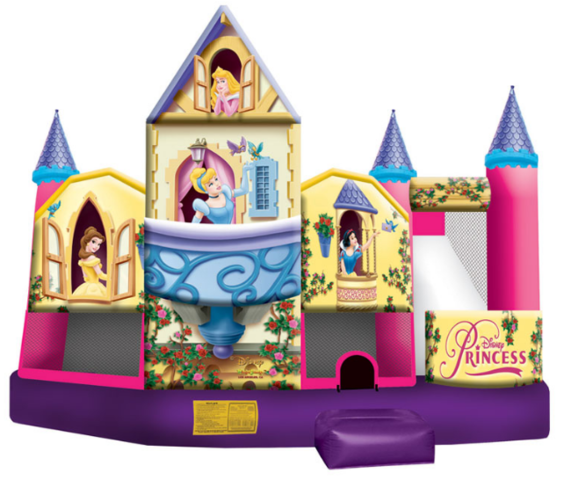 Disney Princess 3D Extra Large Bounce, Slide and Play (CWD191605)