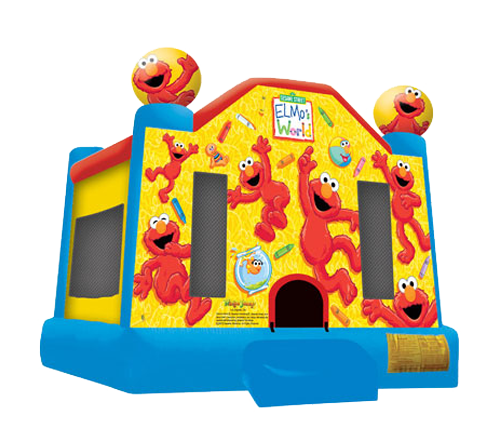 Sesame Street Elmo's World Bounce House - Medium (M131614)