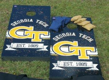 Cornhole Set - Georgia Tech Yellow Jackets (CG1603)