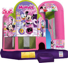 Disney Junior Minnie Mouse Combination Jump, Climb and Slide  (CD1817151)