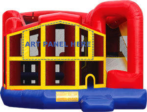 Themed Premiere 5 in 1 Bounce and Slide Combo
