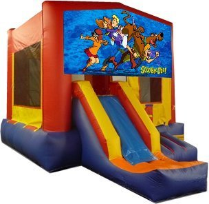 z Scooby Doo Partytime Jump and Front Slide - Large