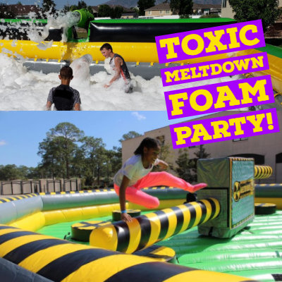 Meltdown Foam Party Package