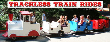 Trackless Train Express - Speedy