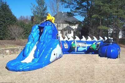 Undersea Adventure Inflatable Maze (JSP2)