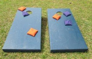Cornhole Game Set - Official Size Blue
