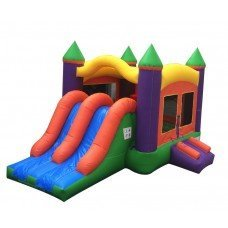 Junior Fortress Dual Lane Slide, Bounce and Climb (CD191771)