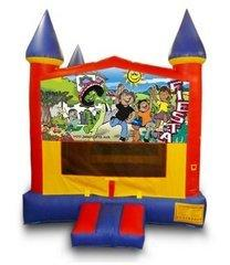 z Fiesta Castle Bouncer - Medium