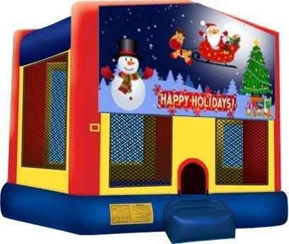 Happy Holidays Partytime Jumper - Large