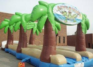 32' Long Lazy Lizard Dual Lane Slip and Slide (SWSS323)
