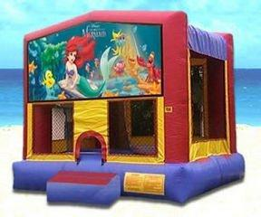 z Little Mermaid Partytime Bouncer - Large