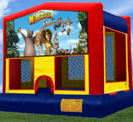 Madagascar PartyTime Bouncer - Large