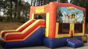 z Madagascar Partytime Jump and Side Slide - Large