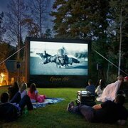 12' Inflatable Outdoor Movie Projector Screen