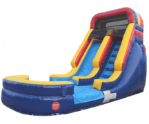 14' High Primary Water Slide