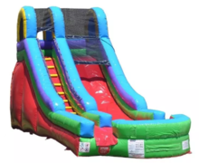15' High Celebration Dry Slide