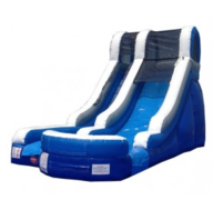 15' High Blue Wonder Water Slide