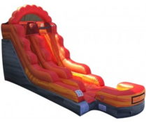 15' High Lava Flow Water Slide
