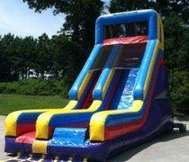 21' High Super Thrill Dry Slide