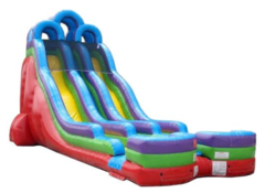24' High Huge Surprise Dual Lane Dry Slide