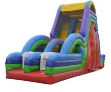 45' Obstacle Atomic Drop Climb and Slide