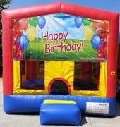 Happy Birthday Balloons PartyTime Bouncer - Large