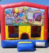 Carnival Time Playtime Bouncer - Medium