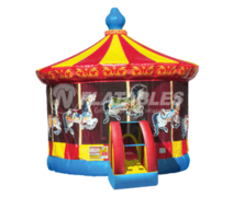 Carousel Bounce House - Medium