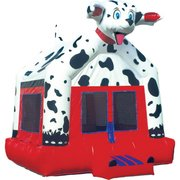 Dalmatian Bounce House - Large