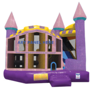 Dazzling Princess Premiere 5 in 1 Bounce and Water Slide Combo