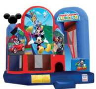 Disney Mickey & Friends Extra Large Jump, Slide and Play (CWD191607)
