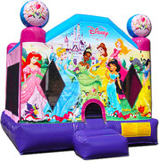 Disney Movies Pink/Purple Princess Bounce House - Medium (M13141)