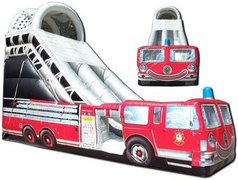 22' High Fire Truck Dry Slide