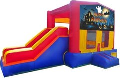 Happy Halloween Ghost Partytime Jump and Side Slide - Large