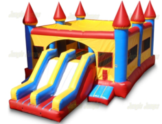 Huge Fortress Event Jump, Climb, Slide and Shoot Combo (CD20004)