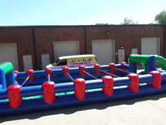 Human Foosball Inflatable Game (JSIG13)