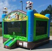 Jungle Adventure Bounce House - Large