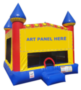 Partytime Primary Castle Bounce House - Large