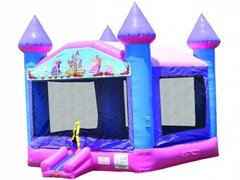 Princess Palace Party Castle Moonwalk - Large