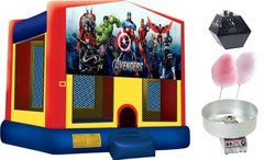 Superhero Theme Bounce Party Package