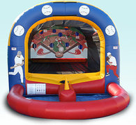 Tee Ball Inflatable Baseball Game