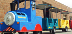 Trackless Train Express - Winder Wonderland Package