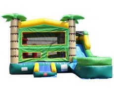 Tropical Adventure Bounce, Climb & Water Slide